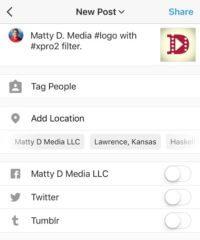 matty d media instagram