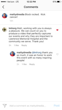 matty d cancer comments