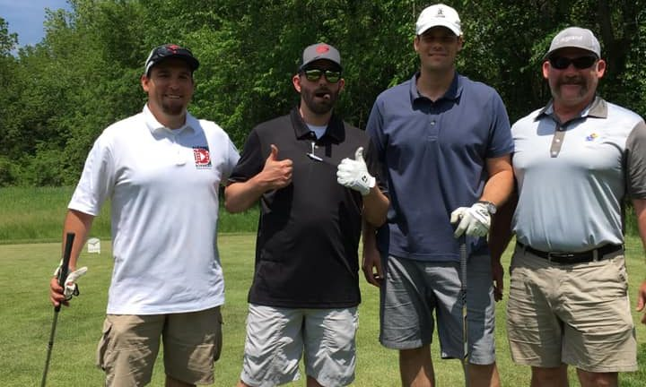 Video Crew Brings Interactive Trivia To Golf Event