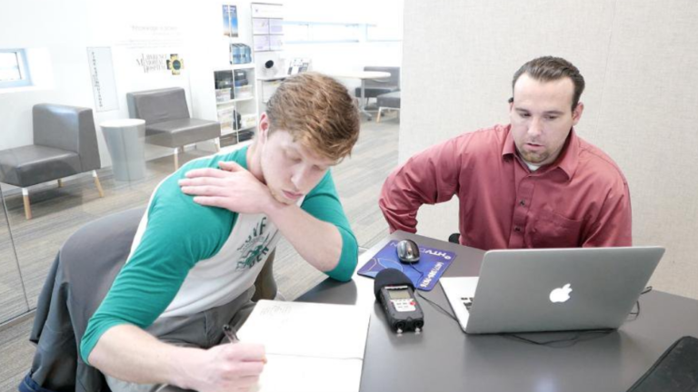 Matty D Media works with video production student