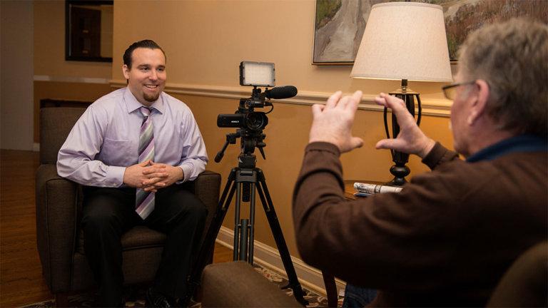 corporate video production service