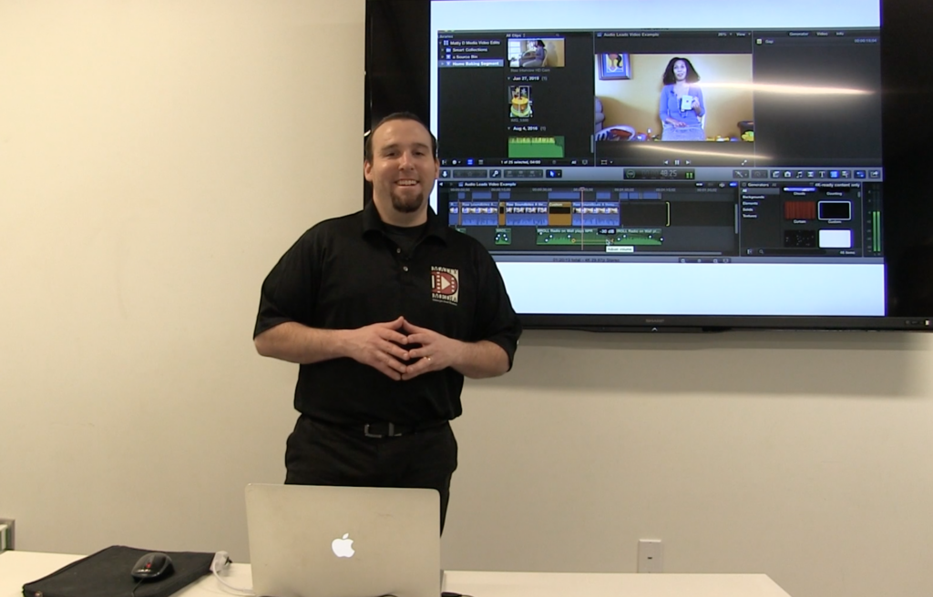 Matt DeSarle is a video editor based in Kansas and his company Matty D Media serves Kansas City area small businesses