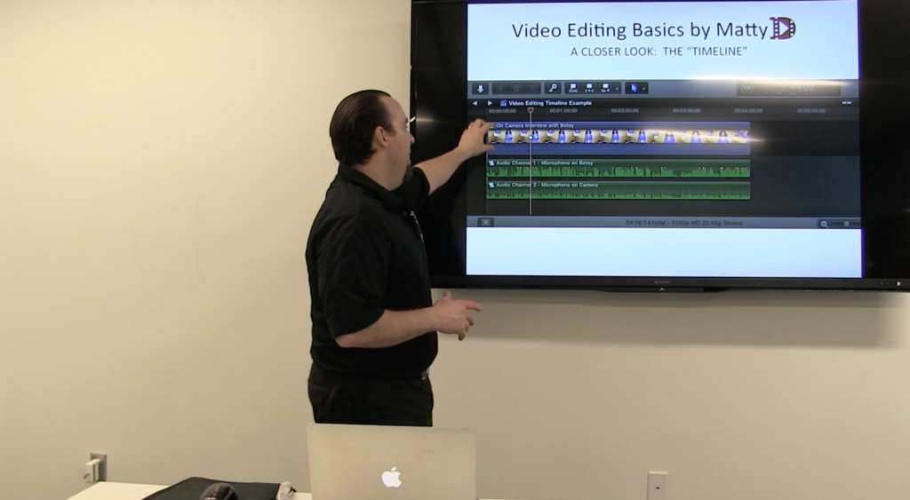 Matty D Media is a video editor based in Kansas for small business