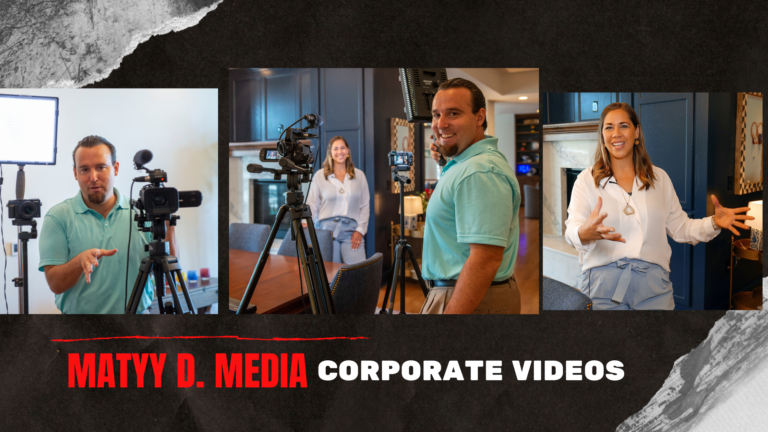 Corporate video production by Matty D Media
